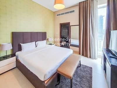 فلیٹ 1 غرفة نوم للايجار في منطقة الكورنيش، أبوظبي - Spacious   Full Sea View   Utilities Included
