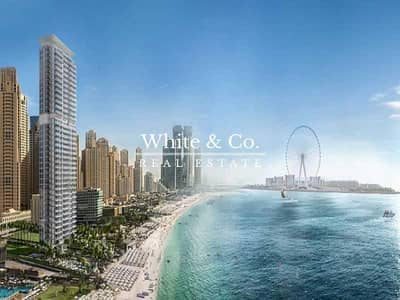 2 Bedroom Apartment for Sale in Jumeirah Beach Residence (JBR), Dubai - Partial Sea view | Beach access |Resale