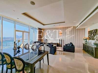 فلیٹ 3 غرف نوم للايجار في نخلة جميرا، دبي - High Floor   Exemplary Condition   Vacant Now