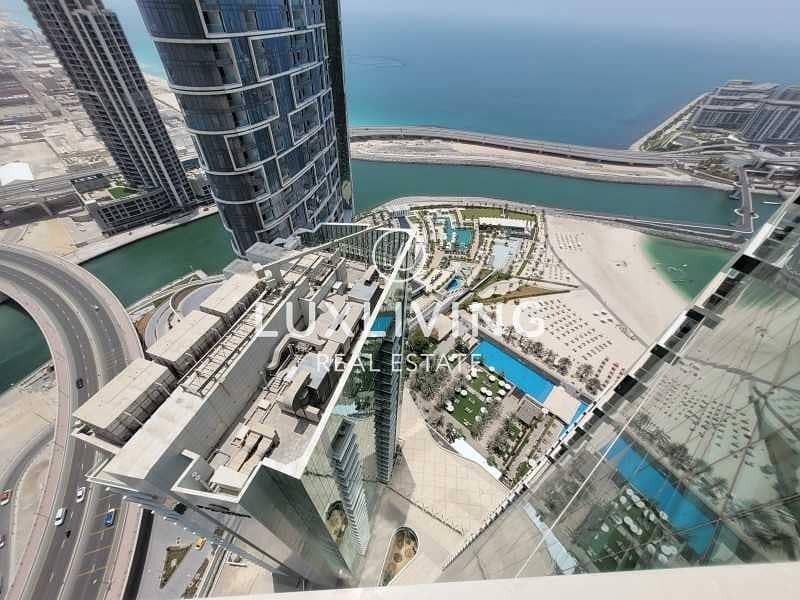 13 Stunning Sea & Marina View | 3 Beds + Maids