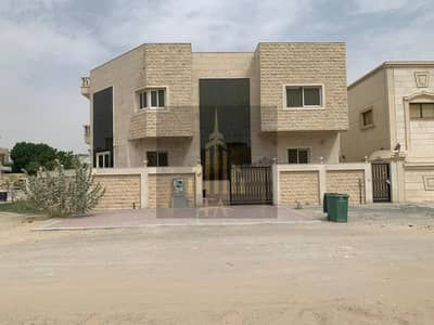 5 Bedroom Villa for Rent in Al Mowaihat, Ajman - GRAB THE DEAL EUROPEAN STYLE CENTRAL AC WITH SWIMMING POOL VILLA 5 MASTER SIZE BAROOMS HALL AVAILBLE FOR RENT IN MOWAIHAT RENT 95,000/- AED YEARLY