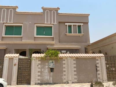 For rent in Ajman Al Rawda, a two-storey villa  4000 feet area  4 rooms, tw
