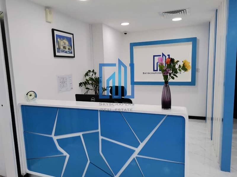 Furnished Fitted Offices | Well Serviced | Vacant