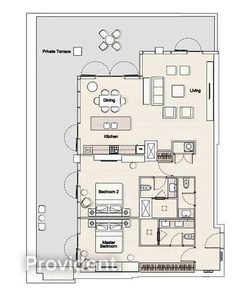 29 Exclusively Managed | Brand New | Large Terrace