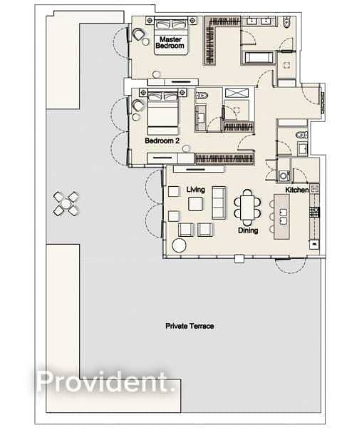 37 Exclusively Managed | Large Terrace | Brand New