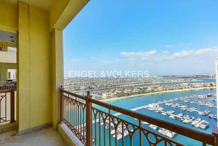 بنتهاوس 4 غرف نوم للبيع في نخلة جميرا، دبي - Spacious Duplex | Sunset View| Negotiable
