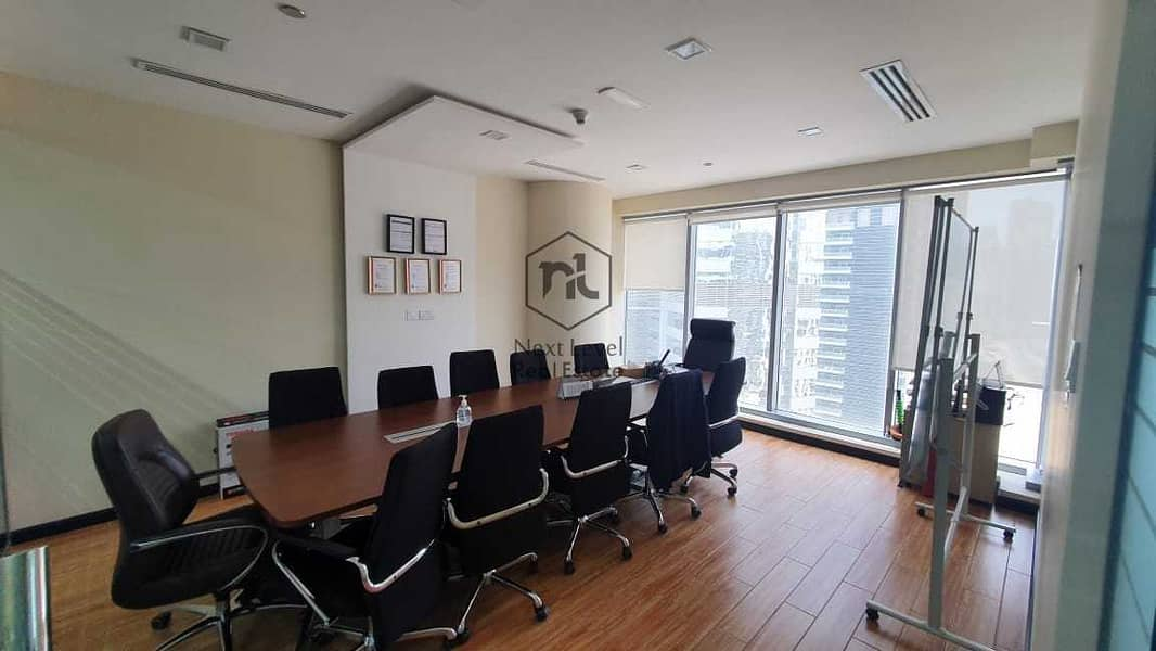 Vacant -Fully Fitted with Glass Partition -  Vacant Office Just 1.2 Million Net++