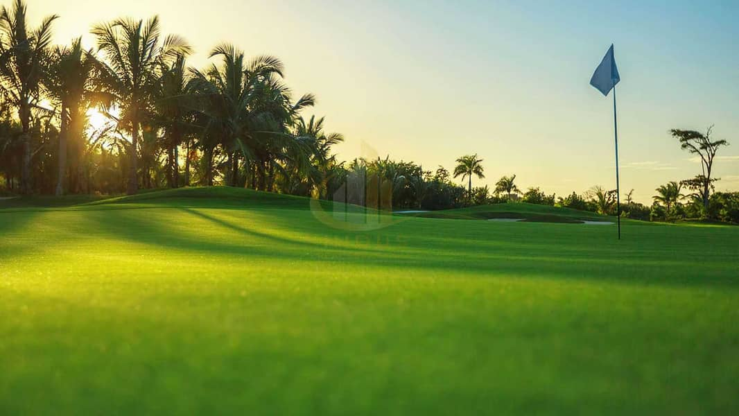 Homes with scenic views of golf course - A Prime Spot   Offplan Golf Suites DHE