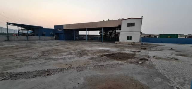 Industrial Land for Rent in Industrial Area, Sharjah - 35000 Square feet Open Land available in Industrial Area 10, main road