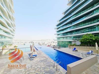فلیٹ 2 غرفة نوم للايجار في شاطئ الراحة، أبوظبي - Biggest Layout Sea View 2 Bed Apartment