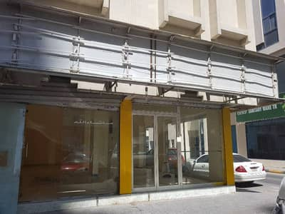 Shop for Rent in Al Ghuwair, Sharjah - CORNER SHOP AVAILABLE NEAR AL ZAHRA HOSPITAL SHARJAH