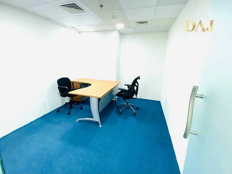 2 Fully Serviced Office near to Metro   0% Commission