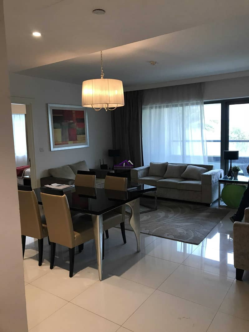2 Fully furnished 1 BR Apartment  for rent in Capital Bay for 75K/yr