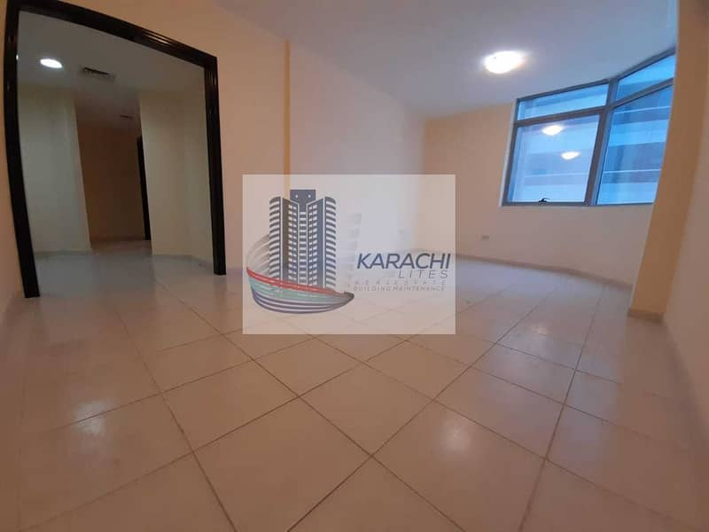 HOT DEAL !! TWO BEDROOMS APARTMENT WITH THREE WASHROOMS IN AL MAMOURA