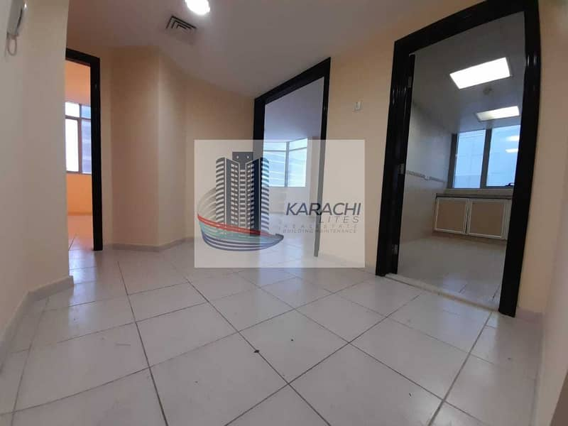 2 HOT DEAL !! TWO BEDROOMS APARTMENT WITH THREE WASHROOMS IN AL MAMOURA