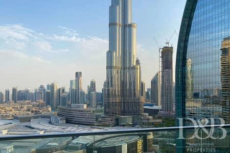 2 Bedroom Flat for Rent in Downtown Dubai, Dubai - Vacant   Burj Khalifa View   Best Layout