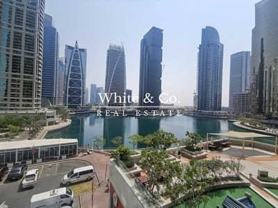 شقة 1 غرفة نوم للايجار في أبراج بحيرات الجميرا، دبي - Fully Furnished | Close to Metro | Lake View