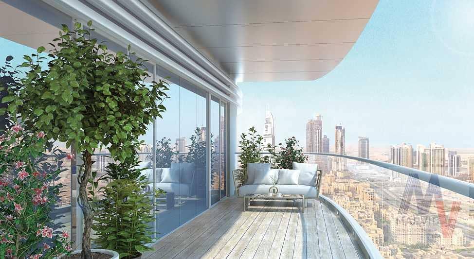 شقة في امبريل افينيو وسط مدينة دبي 2 غرف 2374200 درهم - 5313111