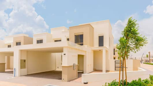 4 Bedroom Townhouse for Rent in Town Square, Dubai - Open For Viewing   Corner Plot 4BR+M Type 8 Hayat Townhouse