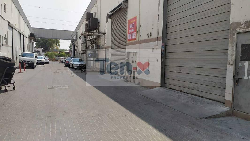 4500 sqft Warehouse Available For Rent / Ground plus mezzanine floor /   Rashidiya / Umm Ramool
