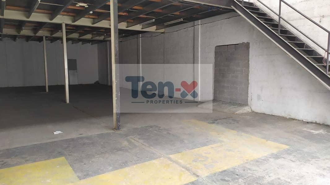 2 4500 sqft Warehouse Available For Rent / Ground plus mezzanine floor /   Rashidiya / Umm Ramool