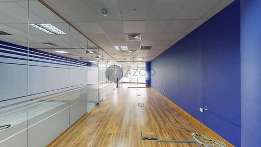 Office for Rent in Dubai Media City, Dubai - Spacious Layout | Panoramic View | Chiller Free