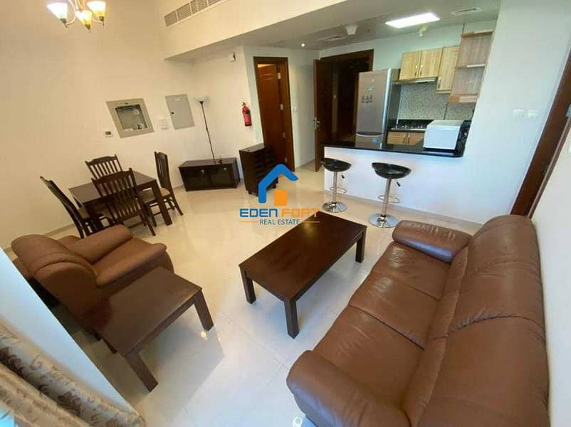 GOLF VIEW  FURNISHED 1BHK IN ELITE