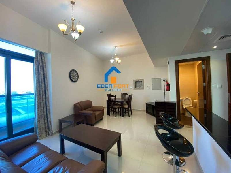 2 GOLF VIEW  FURNISHED 1BHK IN ELITE