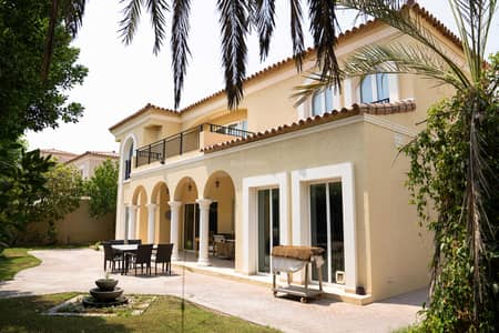 5 Bedroom Villa for Sale in Green Community, Dubai - Fully Upgraded I Near to Pool I Vacant On Transfer