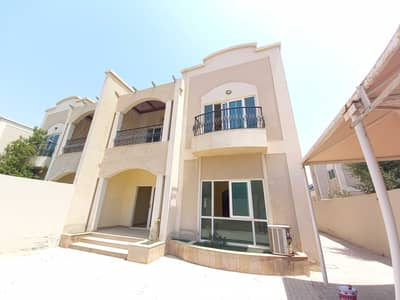 4 Bedroom Villa for Rent in Al Rifah, Sharjah - Spacious 4BR Villa With Maid's Room Central Ac Balcony Parking In Just 75k ,Al Rifah