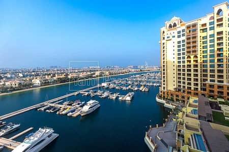 شقة 2 غرفة نوم للبيع في نخلة جميرا، دبي - 2 Bedroom + Maids | Marina Residences 1