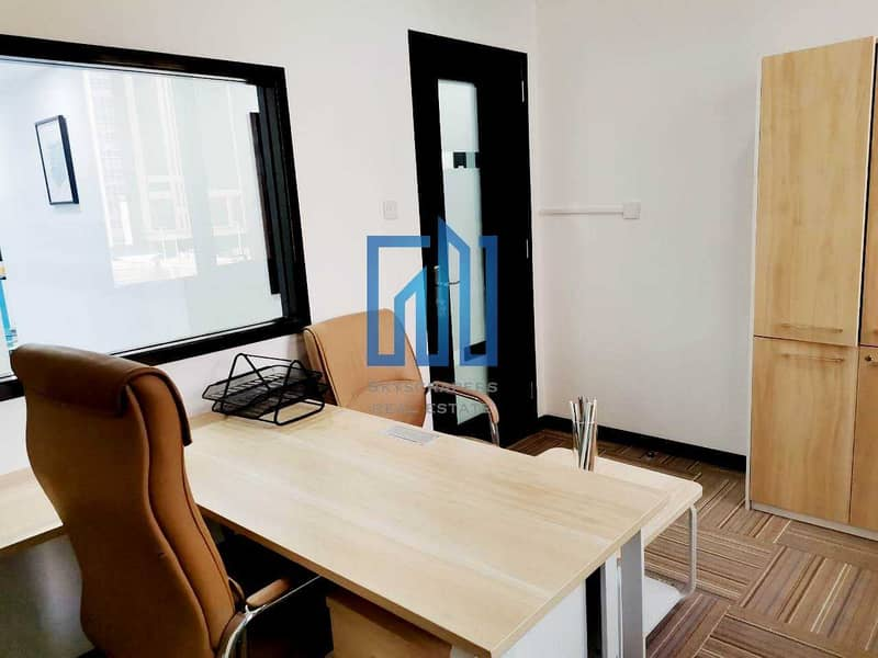14 Furnished Fitted Offices | Well Serviced | Vacant