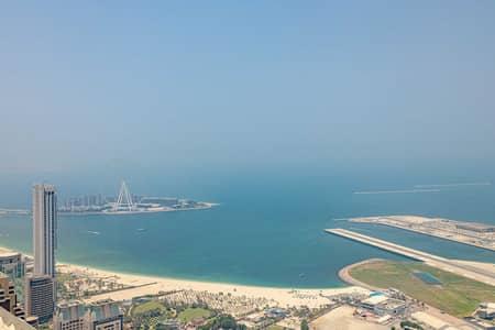 2 Bedroom Apartment for Rent in Dubai Marina, Dubai - 2BR Apt With Unique Sea View in Princess