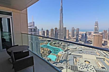 3 Bedroom Apartment for Sale in Downtown Dubai, Dubai - Genuine Resale|Exclusive|Stunning Views|High floor