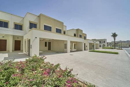 تاون هاوس 3 غرف نوم للايجار في تاون سكوير، دبي - Type 1 single row peaceful location