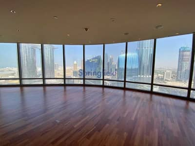 3 Bedroom Apartment for Sale in Downtown Dubai, Dubai - Large Layout | Sea & SZR Road |On Mid Floor