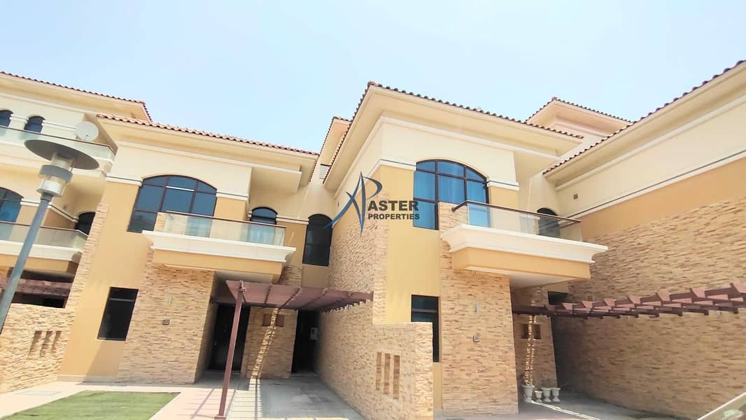 Excellent for Family Spacious & Quality layout 5 Bedroom Villa  + Maid Room