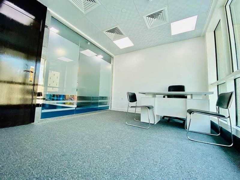 2 Astonishing Furnished Work Space  At Upmarket Location