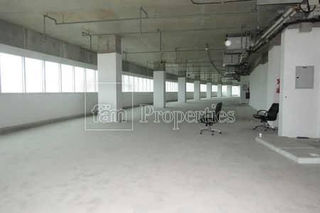Office for Rent in Al Hudaiba, Dubai - Landscape Views / Shell n core /  Low floor