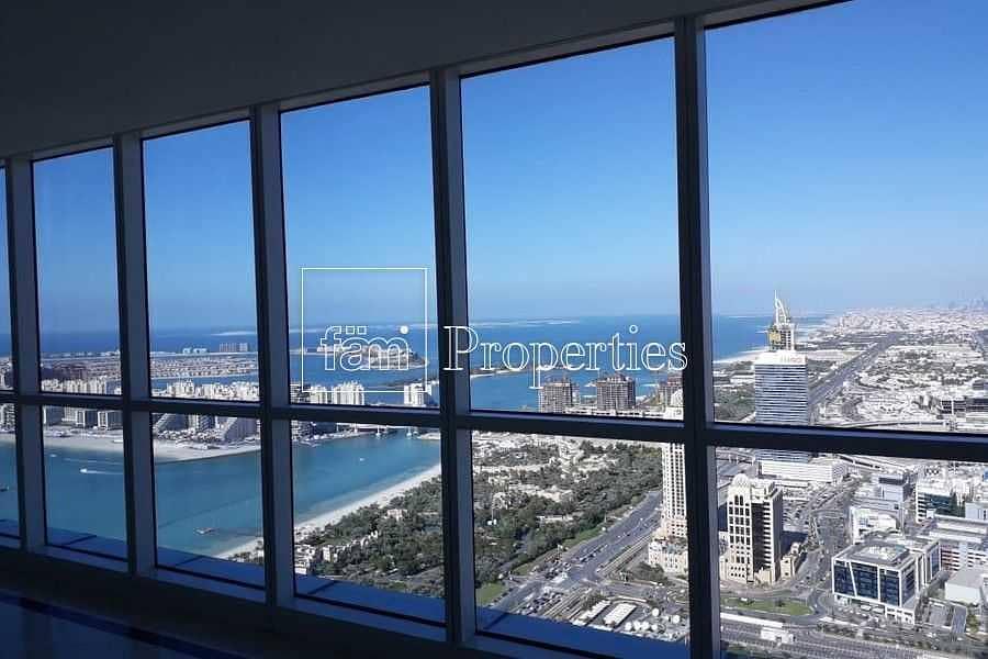 Full Marina View  4BR penthouse duplex