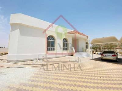 فیلا 4 غرف نوم للايجار في الروضة الشرقية، العین - Fully refurbished | With Huge Yard | Outside Kitchen