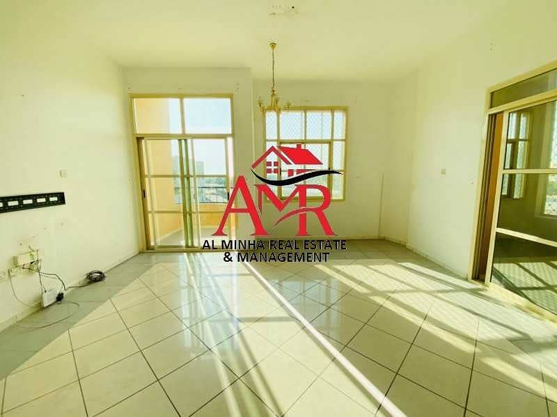 Its a Neat & Clean Flat With Balcony & Shaded Parking