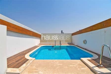2 Bedroom Penthouse for Sale in Jumeirah Village Circle (JVC), Dubai - Triplex Penthouse | Private Pool | VOT