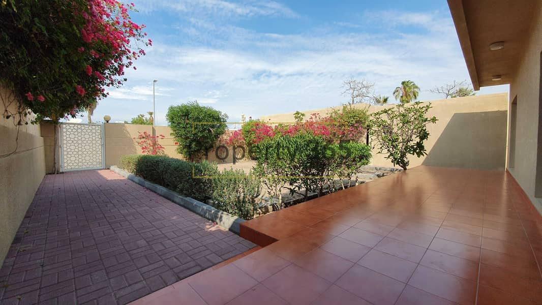 2 Private Garden / 3 Bedrooms plus Maid`s / 7 min from Jumeirah Beach