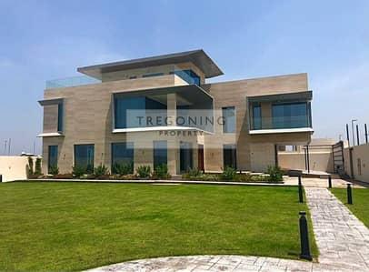 5 Bedroom Villa for Sale in Pearl Jumeirah, Dubai - Unreal brand new beachside Mansion Cinema Gym Basement