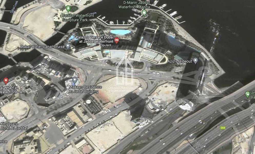 2 Al Jaddaf - Commercial Plot - For Sale