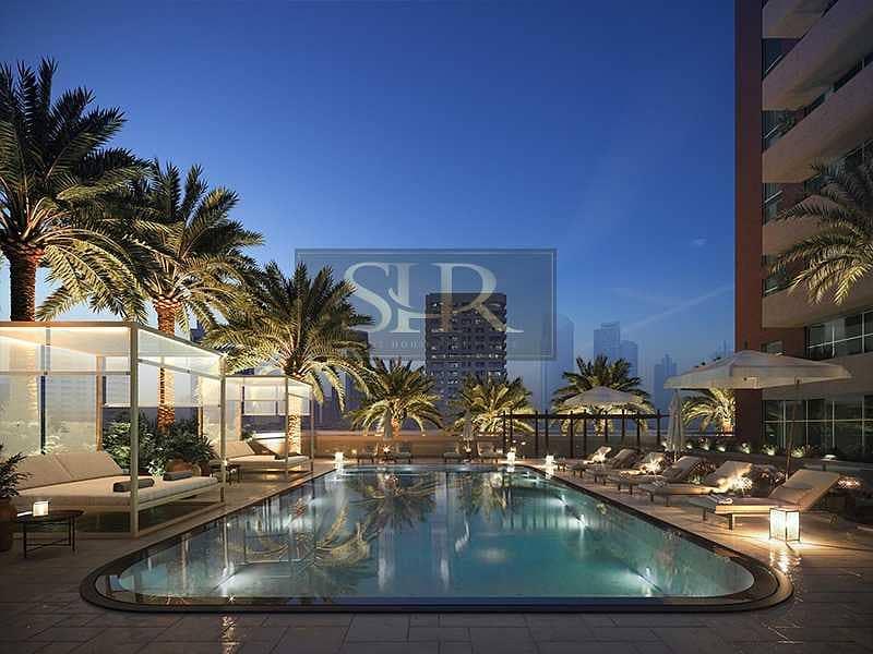 2 Brand New Apartment Fully Furnished Studio for sale in Azizi Samia