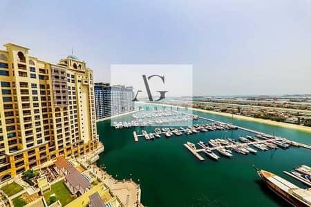 شقة 2 غرفة نوم للايجار في نخلة جميرا، دبي - Stunning Water View   Available Now   High Floor  