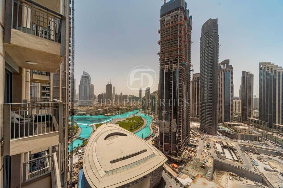 Penthouse| Big Terrace| Burj and Fountain Views