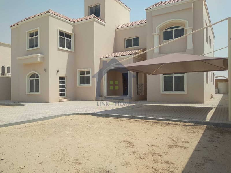 Brand new villa with 8 bedrooms in madinat al riyadh
